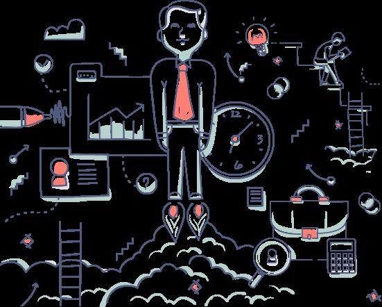 illustration de représentation de la société Doxaplus