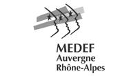 Logo agrément du Medef Auvergne Rhône Alpes